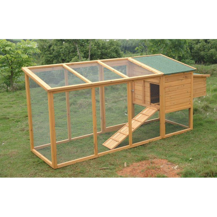 Rabbit Ferret Hutch with Extra Long Run - MALVERN 046