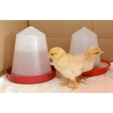Chicken Feeder& Drinker Set 1.5kg & 1.5 Litre - 230 & 206