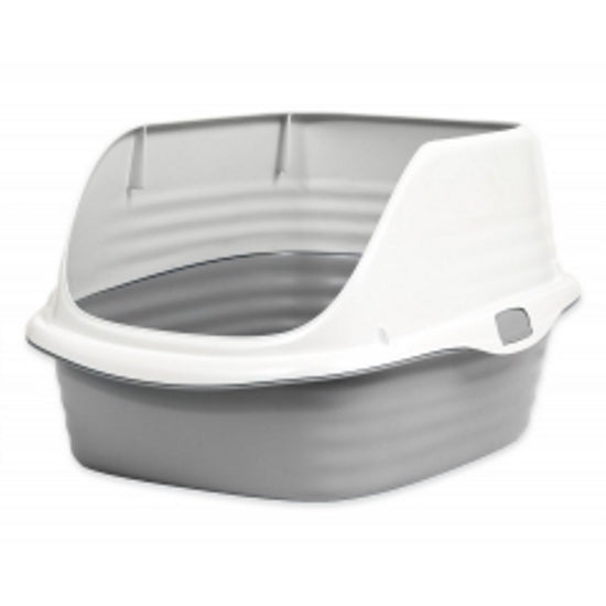 Stay Fresh High Back Rimmed Litter Tray - LARGE - 22206