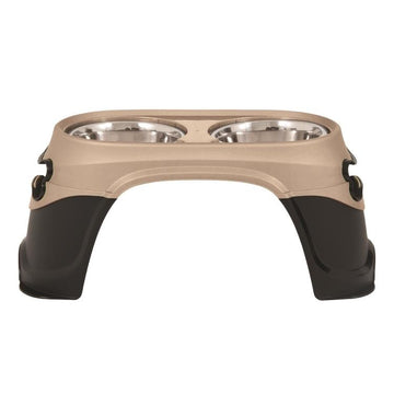 Easy Reach Diner Raised Dog Bowls