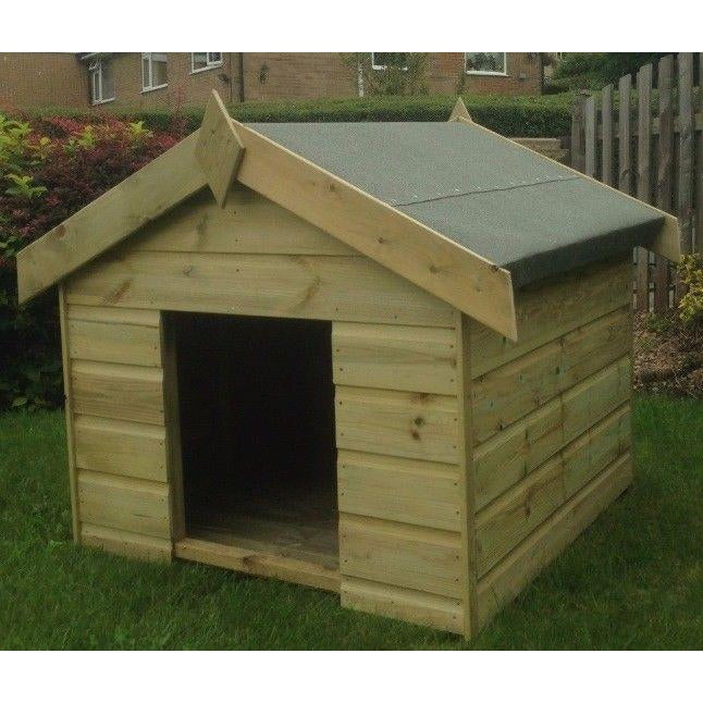 Pilton Tanalised Wooden Dog Kennel