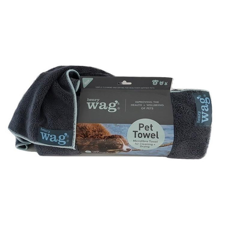 Henry Wag Microfibre Towel for Pets