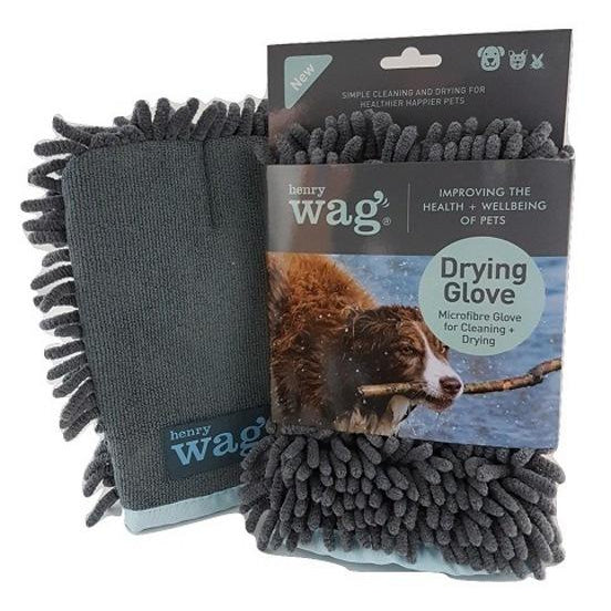 Henry Wag Microfibre Drying Glove for Pets - 40588