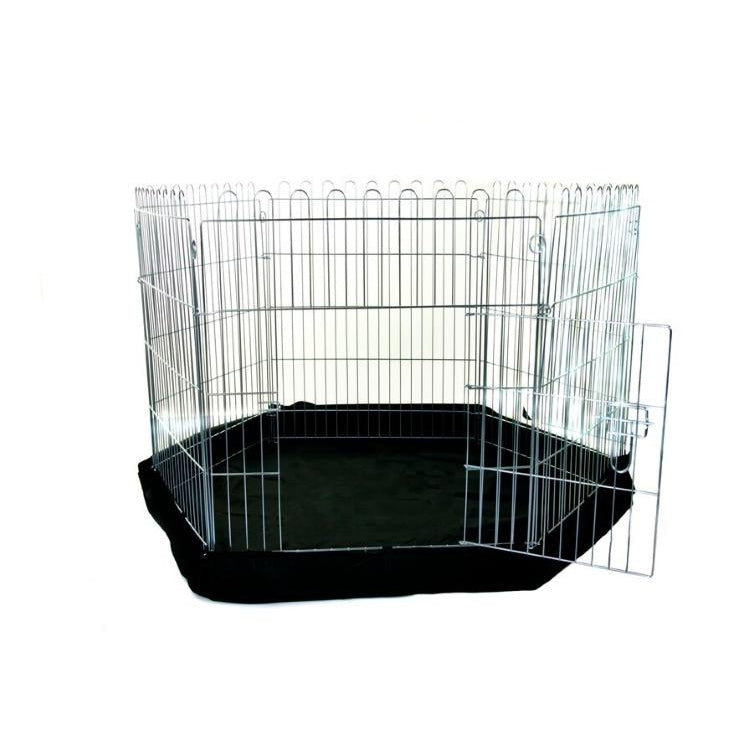 Henry Wagg 6 sided Dog Play Pen with Base - 40076
