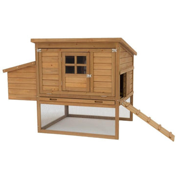 Birch Chicken Coop