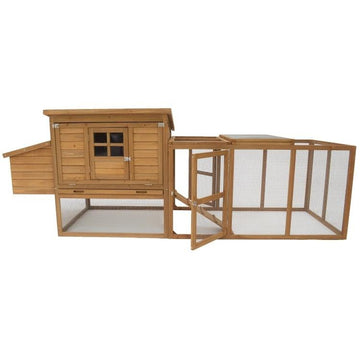 Birch Chicken Coop With Run