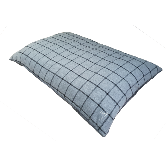 Gor Pets Camden Comfy Pet Cushion - GREY CHECK