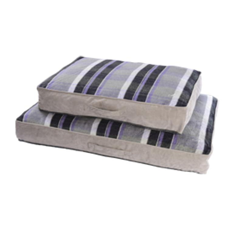 Gor Pets Camden Sleeper Dog Bed - PURPLE CHECK
