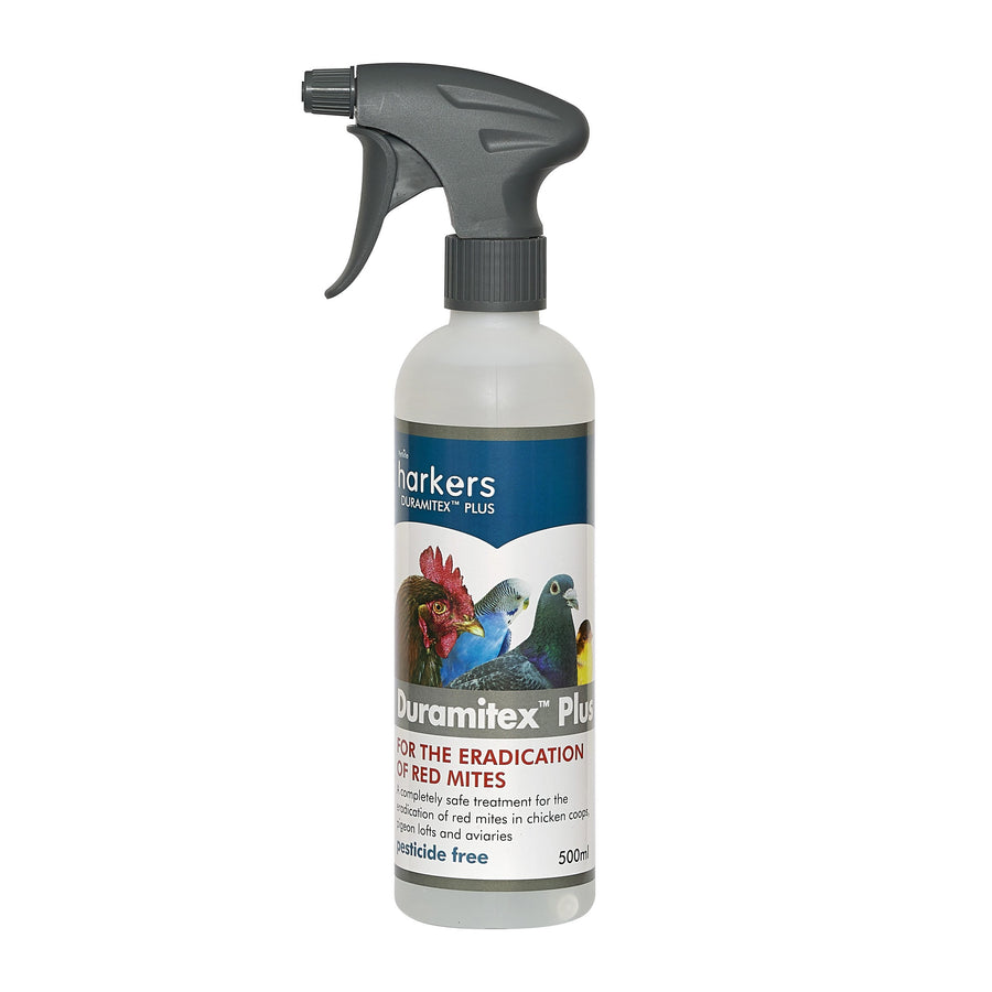 Harkers Duramitex Plus - Anti Red-Mite Spray Pesticide Free-ideas4petscouk