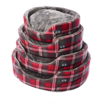 Gor Pets Essence Dog Bed - RED CHECK