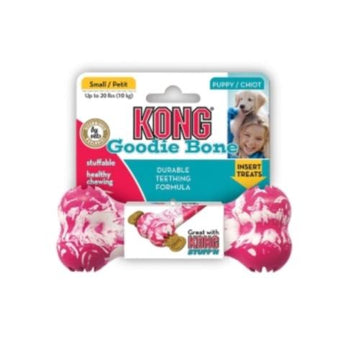 Kong Puppy Goodie Bone Treat Toy  KGKP31