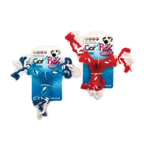 Gor Flex Knots Twister Dog Toy GF26