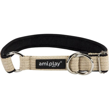 Ami Play Half Check Dog Collar - 7 colours