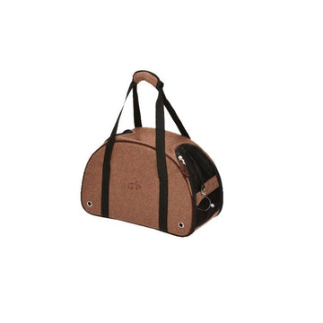 Gor Pets Kensington Pet Carrier - Brown Tweed - KEPCS-46