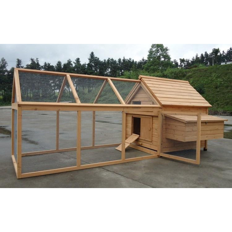 Chicken Coop with Run - MARLEY 007HR