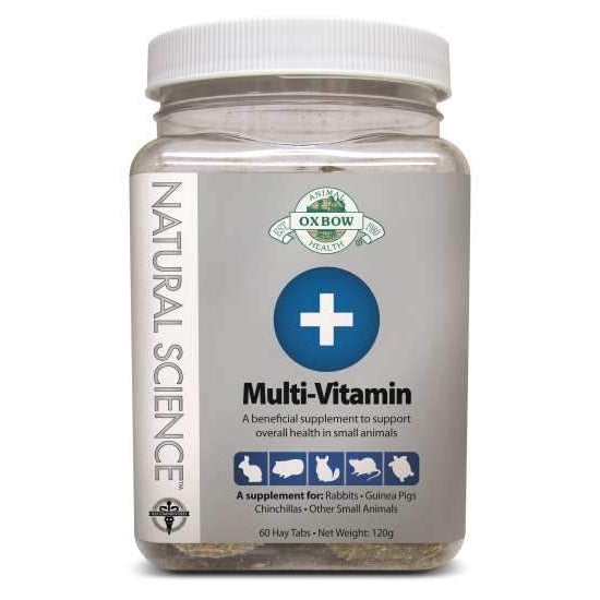 Oxbow Natural Science Multi-Vitamins 60 Tabs