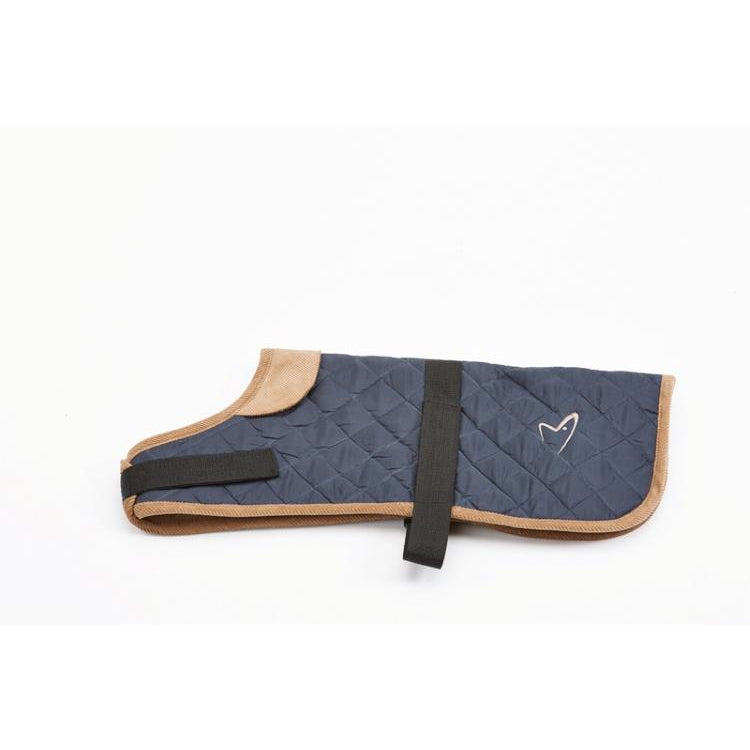 Gor Pets Worcester Padded Waterproof Dog Coat - NAVY