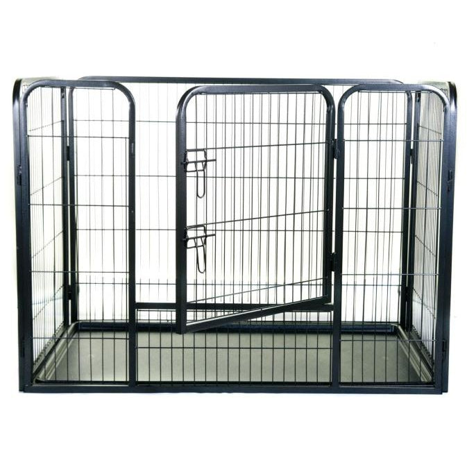 Henry Wagg Metal Puppy Play Pen With Base - 40168