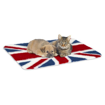 Petlife Vet Bed  Non-Slip Union Jack
