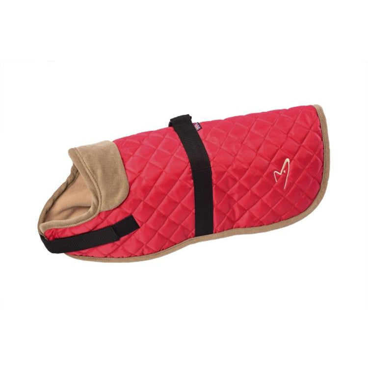 Gor Pets Worcester Padded Waterproof Dog Coat - RED