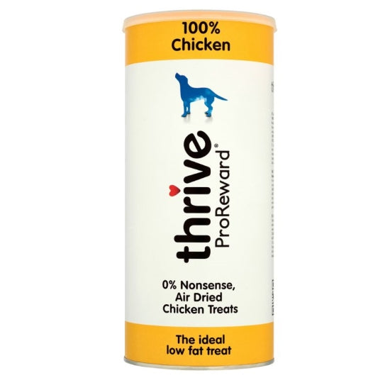 Thrive Pro Reward Chicken Treats for Dogs - 12 x 60g Tubes