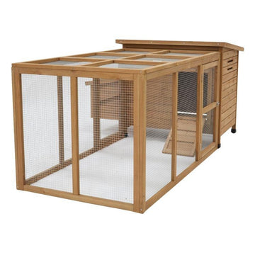 Aspen Chicken Coop With Run
