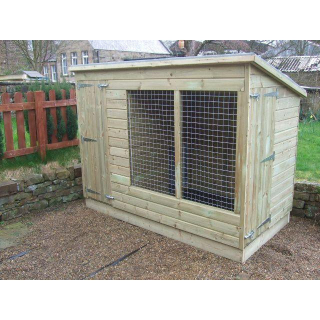 Astonia Dog Kennel and Run - Fitted - 12 sizes