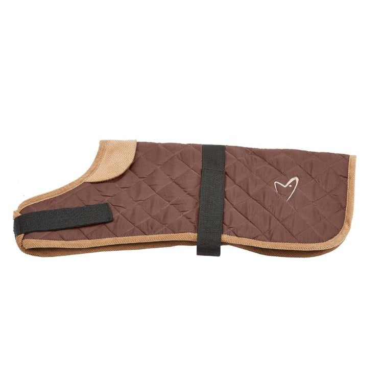 Gor Pets Worcester Padded Waterproof Dog Coat - BROWN