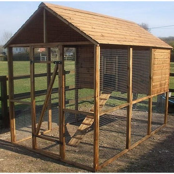 Buckingham Deluxe Tanalised Combination Chicken Coop