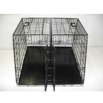 Doghealth XL shaped car crate 36 x 36
