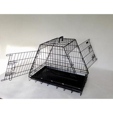 Doghealth car crate half boot sloped