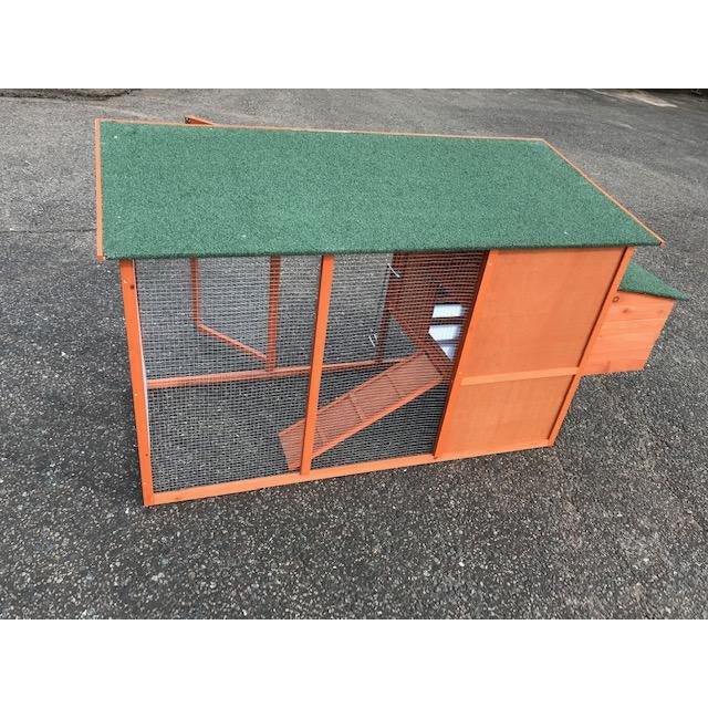 Wooden Chicken Coop and Run up to 4 hens PERFECT STARTER UNIT-ideas4petscouk