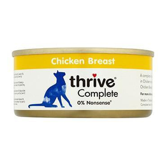 Thrive Complete Chicken Breast Cat Food 12 x  75g Tins