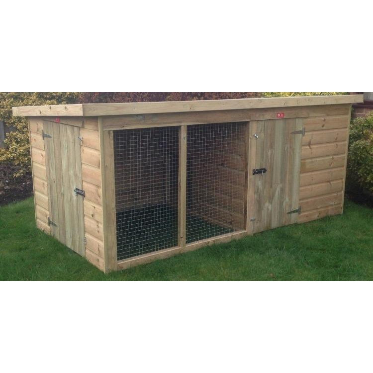 Bourne Tanalised Low Height Kennel