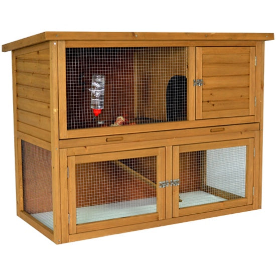 Rabbit Hutch with Under Run - PARSLEY