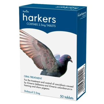 Harkers Coxitabs for Pigeons