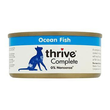 Thrive Complete Ocean Fish Cat Food 12 x  75g Tins