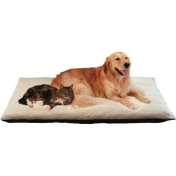 Petlife  Flectabed Heat Reflective Thermal Faux Fleece Bed