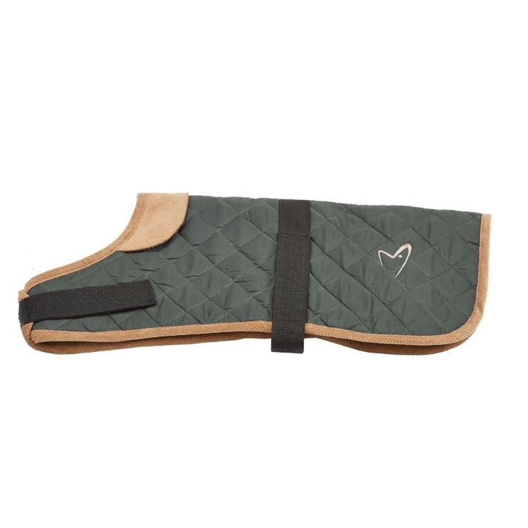 Gor Pets Worcester Padded Waterproof Dog Coat - GREEN