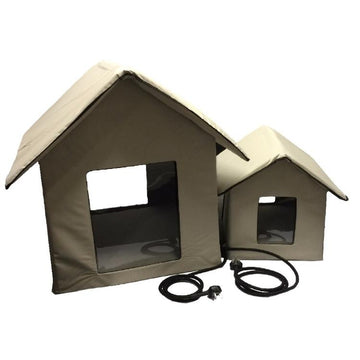 Waterproof Heated Pet Kennel