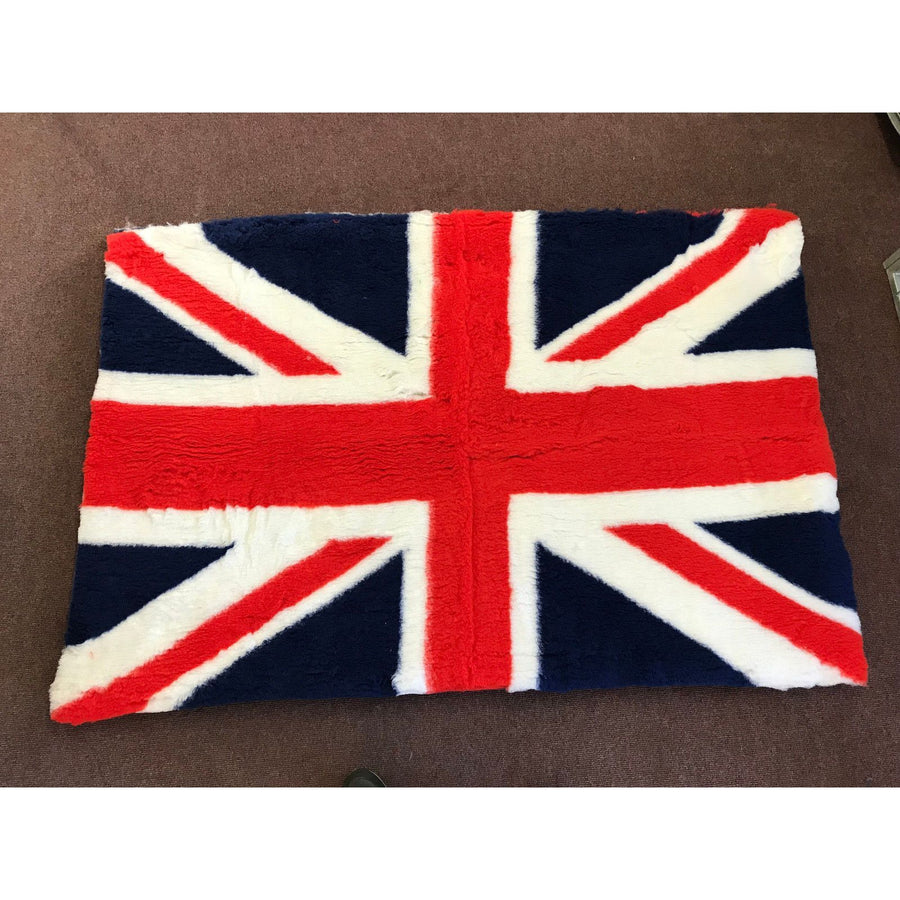 UK FLAG DESIGN VET BEDDING