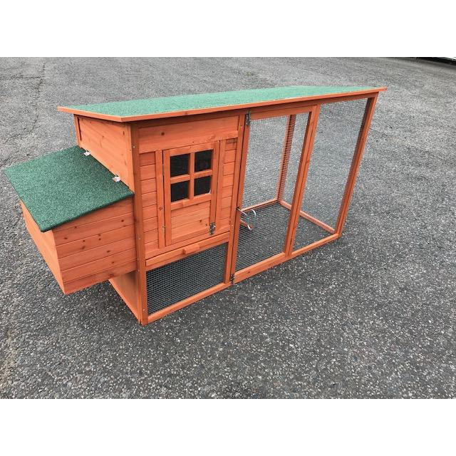 Wooden Chicken Coop and Run up to 4 hens PERFECT STARTER UNIT