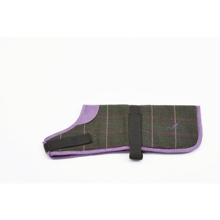 Gor Pets Kensington Dog Coat - Green Tweed