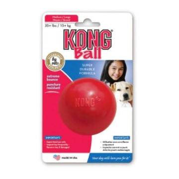 Kong Small Dog Ball with Treat Hole - KGKB2