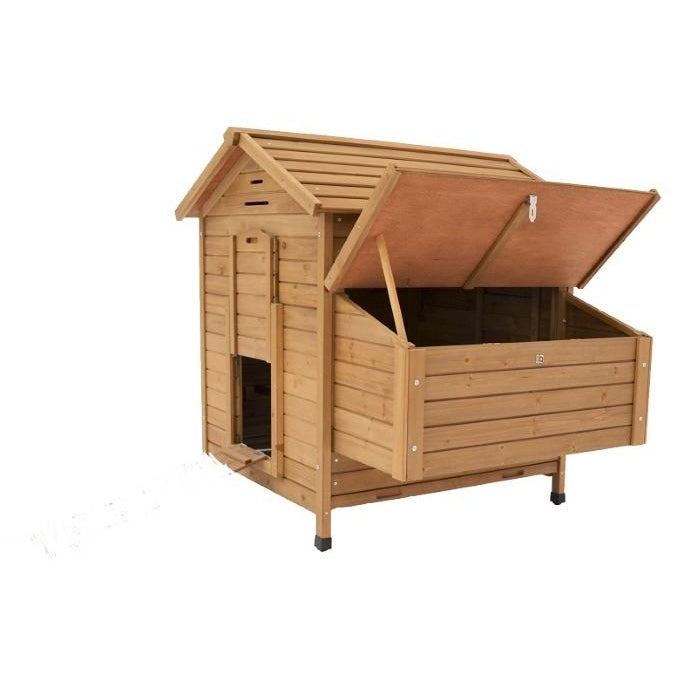 Maple Chicken Coop With Run-ideas4petscouk