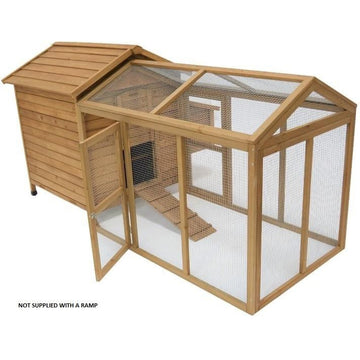 Maple Chicken Coop With Run