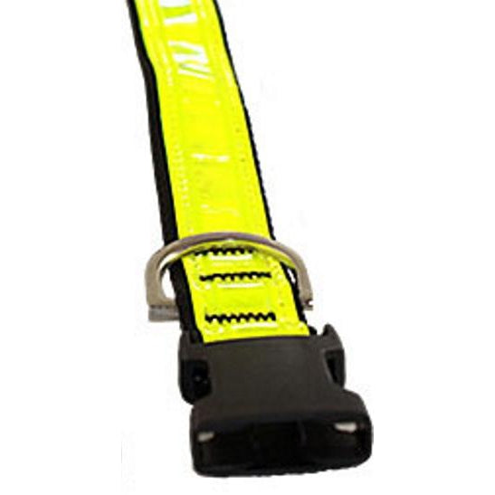 Catac Reflective Dog Collar - WIDE