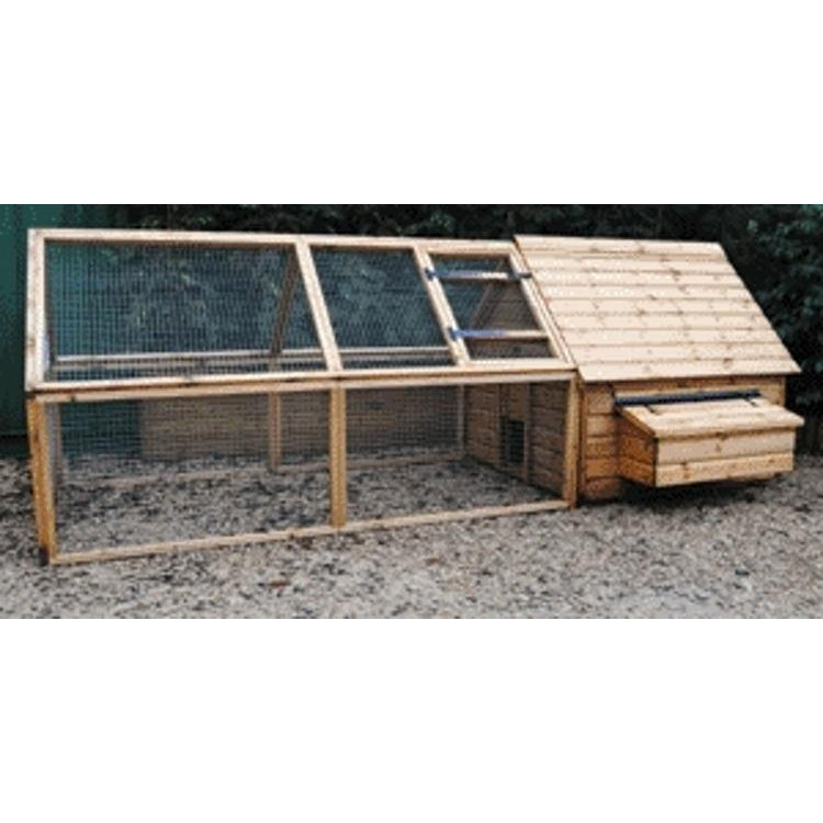 Sandringham Deluxe Poultry House With Run