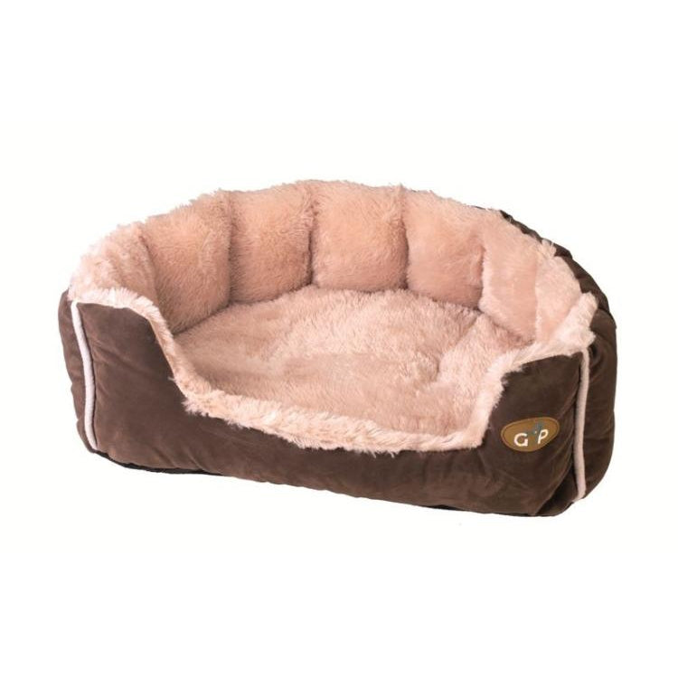 Gor Pets Nordic Snuggle Dog Bed - Brown