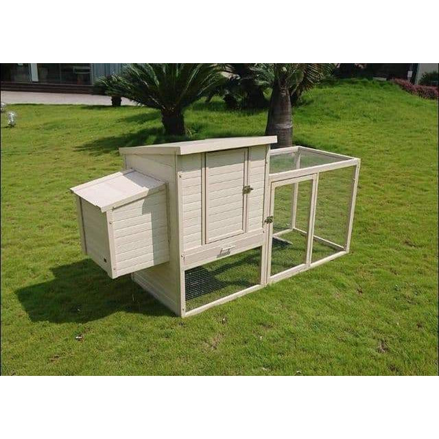 Sonoma Ecoflex Plastic Chicken Coop & Run